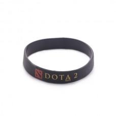 Браслет DOTA2 силиконовый, черный
