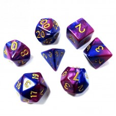 Кубики DND Color, фиолетовый с синим