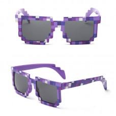 Очки Minecraft, фиолетовые