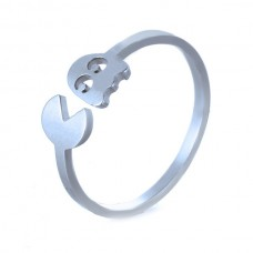 Кольцо Pacman, серебро