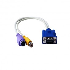 D-Sub VGA to S-Video + RCA
