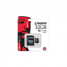 Kingston MicroSDHC 32GB CL10 + Adapter